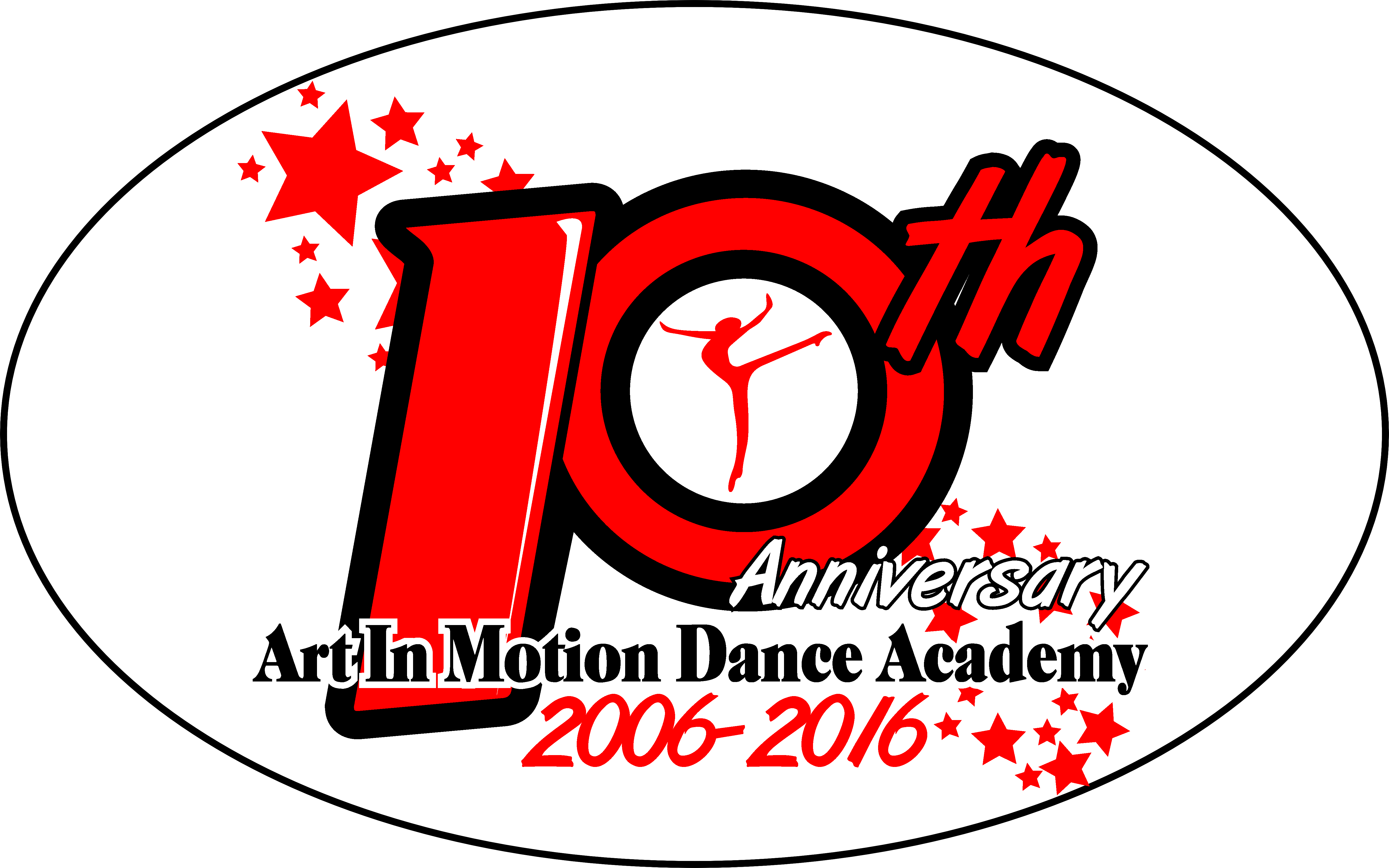 AMDA 10 YEAR ANNIVERSARY - CELEBRATING 10 YEARS OF DANCE EDUCATION AND EXCELLENCE!